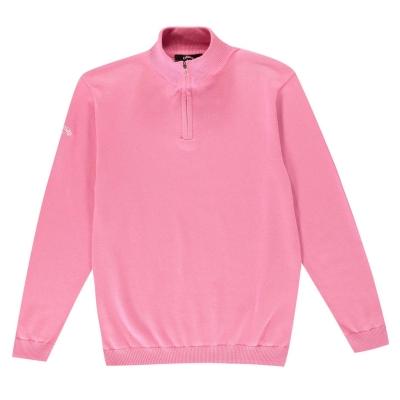 Bluza de trening Callaway cu fermoar pentru baietei fucsia roz
