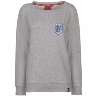 Bluza de trening FA Anglia cu guler rotund pentru Femei gri