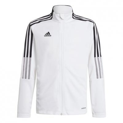 Bluza de trening For Adidas Tiro 21 Track alb GM7313 pentru Copii