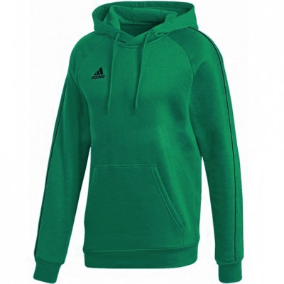 Bluza de trening Hanorac For Adidas Core 18 Youth verde FS1893 pentru Copii