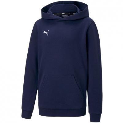 Bluza de trening Hanorac For Puma TeamGOAL 23 Casuals albastru 656711 06 pentru Copii copii