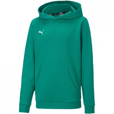 Bluza de trening Hanorac For Puma TeamGOAL 23 Casuals verde 656711 05 pentru Copii copii