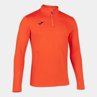 Bluza de trening Joma alergare Night portocaliu