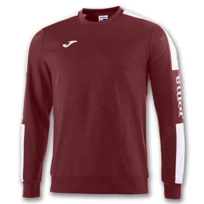 Bluza de trening Joma Champion Iv Burgundy-alb rosu