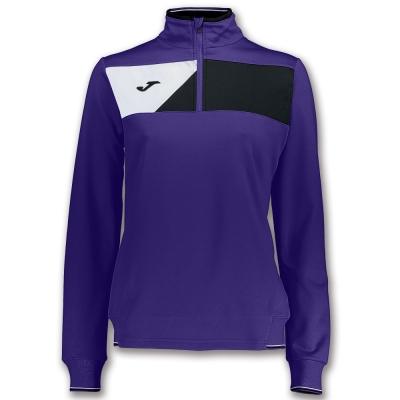 Bluza de trening Joma Crew II Purple pentru Femei mov