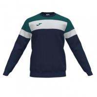 Bluza de trening Joma Crew Iv bleumarin inchis-verde