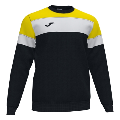 Bluza de trening Joma Crew Iv negru-galben