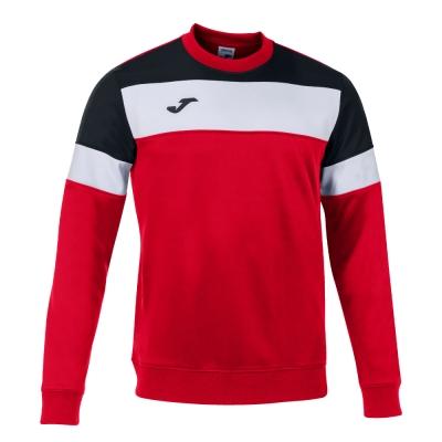 Bluza de trening Joma Crew Iv rosu-negru