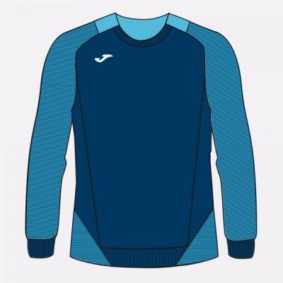 Bluza de trening Joma Essential II bleumarin inchis-turcoaz