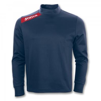 Bluza de trening Joma Polyfleece Victory bleumarin-rosu