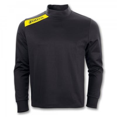 Bluza de trening Joma Polyfleece Victory negru-galben