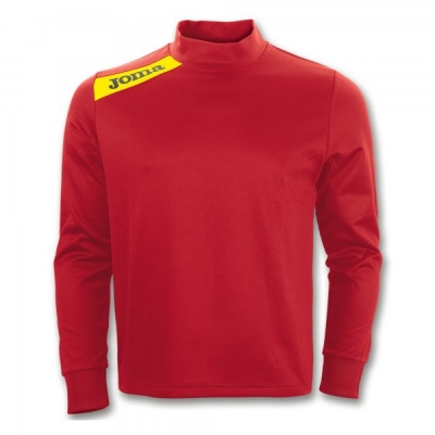 Bluza de trening Joma Polyfleece Victory rosu-galben