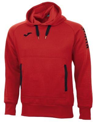 Bluza de trening Joma Street Combi Red-black