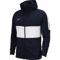 Bluza de trening Nike Dry Academy JKT HD I96 K bleumarin alb AT5652 451 pentru femei