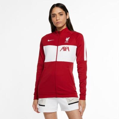 Bluza de trening Nike Liverpool 2020 2021 pentru Femei rosu alb