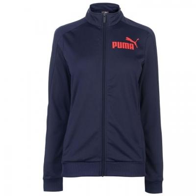 Bluza de trening Puma Essentials Poly pentru Femei bleumarin rosu