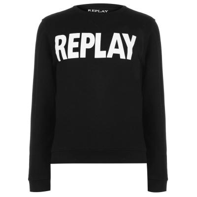Bluza de trening Replay negru
