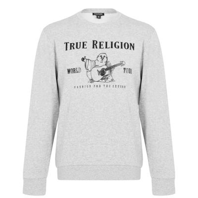 Bluza de trening True Religion Buddha gri