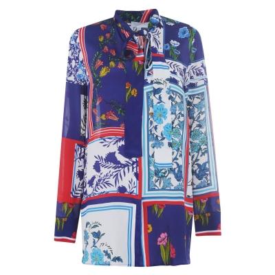 Bluza Escada Foulard Floral Printed