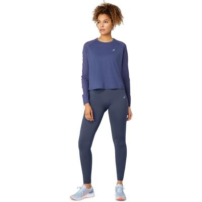 Bluza maneca lunga Asics Run Ld14 albastru gri