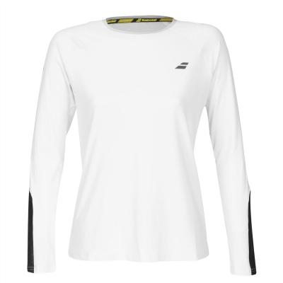 Bluza maneca lunga Babolat Core pentru Femei alb