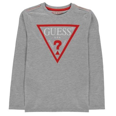 Bluza maneca lunga Guess gri m90