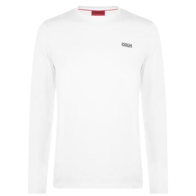 Bluza maneca lunga HUGO Derol alb