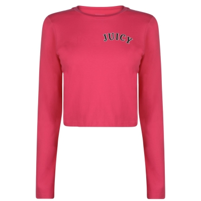 Bluza maneca lunga Juicy Crop passion roz
