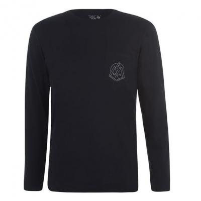 Bluza maneca lunga Mountain Hardwear pentru Barbati negru
