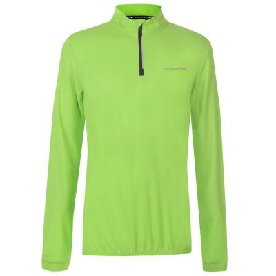 Bluza maneca lunga Muddyfox ciclism pentru Barbati verde negru