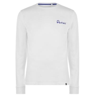 Bluza maneca lunga Penfield Moraine alb