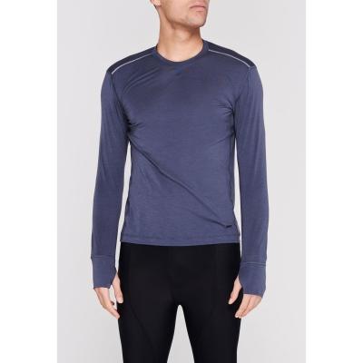 Bluza maneca lunga Sugoi Coast pentru Barbati negru albastru