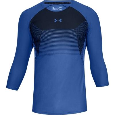 Bluza maneca trei sferturi Under Armour Threadborne Vanish pentru Barbati albastru