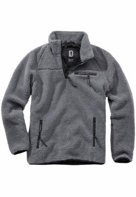 Bluza outdoor fleece gri-inchis Brandit