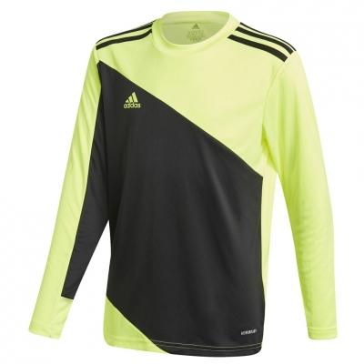 Bluza pentru portar Adidas Squadra 21 Youth Jersey negru And Lime GN5794 pentru Copii