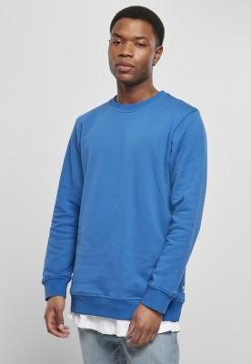Bluza simpla Organic sporty-albastru Urban Classics