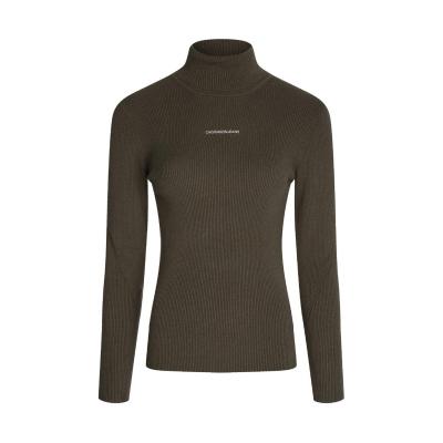 Bluza de trening Helanca Calvin Klein Jeans Micro negru oliv