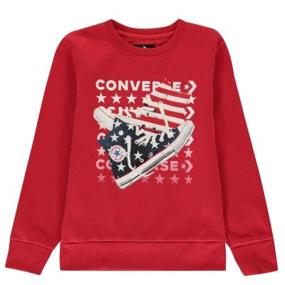 Bluza sport Converse Am rosu