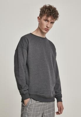 Bluza sport cu maneca lunga gri-carbune Urban Classics