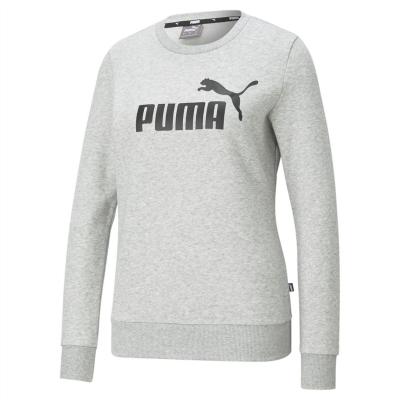 Bluza sport Puma Essential pentru femei med gri