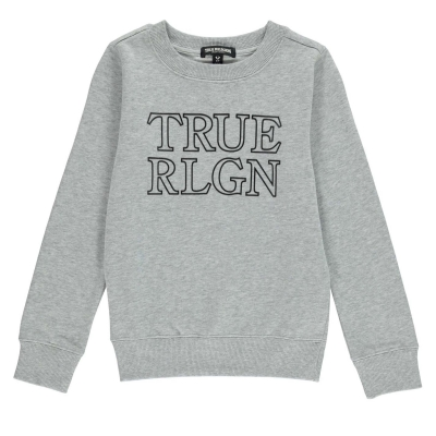 Bluza sport True Religion True Chest Logo pentru copii gri