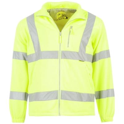Bluza termica Dunlop reflectorizant pentru Barbati galben