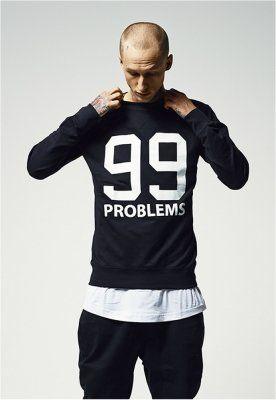 Bluza barbati rap 99 Problems negru Mister Tee