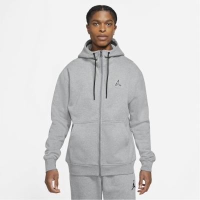 Bluze cu fermoar Hanorac Air Jordan Full- pentru Barbati gri