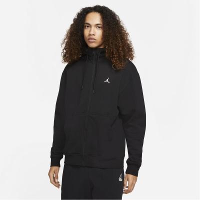 Bluze cu fermoar Hanorac Air Jordan Full- pentru Barbati negru