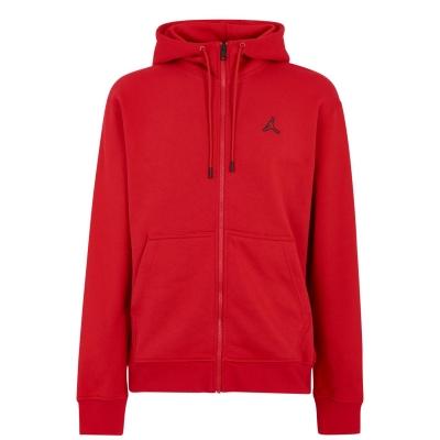 Bluze cu fermoar Hanorac Air Jordan Full- pentru Barbati rosu