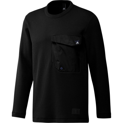 Bluze cu guler rotund adidas Urban pentru Barbati negru