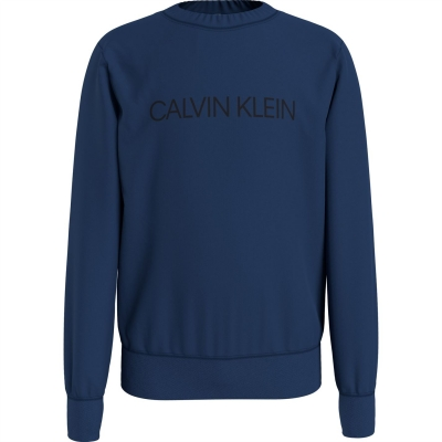 Bluze cu guler rotund Calvin Klein Institutional pentru baietei