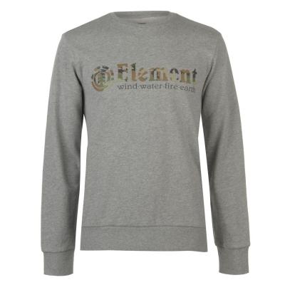 Bluze cu guler rotund Element Element pentru Barbati gri glimpse