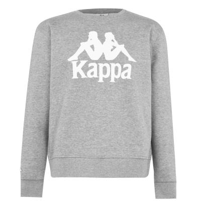 Bluze cu guler rotund Kappa Essential gri